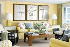 Image result for pale yellow interiors