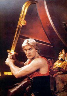 Sam Jones as Flash Gordon I WAS iN LOVE WITH HIM~
