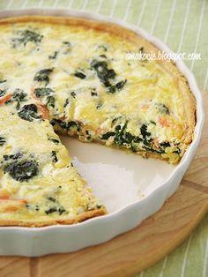 Savory Tart, Quesadilla, Quiche, Food And Drink, Menu, Healthy Recipes, Cooking, Breakfast, Impreza