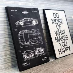 Aké je vaše vysnívané auto ? 😍🇮🇹 Z tohto obrazu putoval do Žiliny k @zuzanalukacova 😊 pozdravujeme 👋 Make It Yourself, Cover, Happy, How To Make, Slipcovers, Happiness, Being Happy