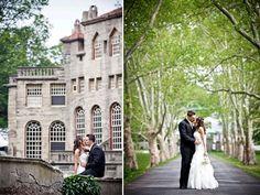 real-penn-wedding-bride-groom-traditional-black-tux-white-wedding-dress-castle-venue__full.jpg (678×509)