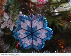 quillingowe Christmas decorations on Stylowi.pl