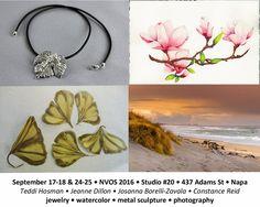 Napa Valley, Studios, Artists, Jewelry, Design, Bijoux, Artist, Jewlery, Jewels