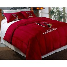 Arizona Cardinals Comforter Set WANT IT! Why does my man have to be a Lions fan?