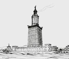Lighthouse of Alexandria - Wikipedia, the free encyclopedia