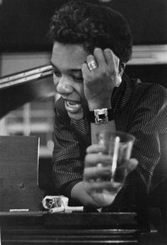 Roy DeCarava - Singer at Piano, New York, 1952