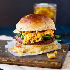 Frito Pie Burger by foodiebride, via Flickr