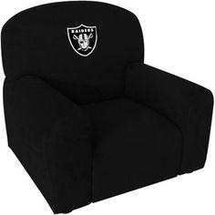 Oakland Raiders Kidu0027s Chair