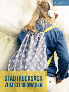 Näh dir einen coolen Stadtrucksack, oder den idealen Stringbag für die…