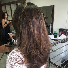 Marrom mel cabelo iluminado natural #morenasiluminadas by carlosborges123 http://ift.tt/1TpA2za