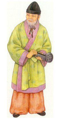 삼국 시대의 복식 고구려인의 복식 고구려인은 추운 북쪽지방에 위치해 있고 중국의 침입을 걱정해야 할 위치에 있었다. 이러한 사정은 고구려인의 입었던 의복에 그대로 반영되어 있었다. 고구려 옷의 기본적 구조는 님자는 머리에 모자(관모)를 썻으며 좁은 소매