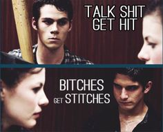Teen Wolf #BAMF #Bros #Stiles and Scott (season 3) - love this!!