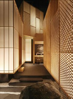 45 Best Recomended Art Deco Interior Design Ideas for Your Home Design Hotel, Spa Design, House Design, Design Ideas, Japanese Restaurant Interior, Japan Interior, Japanese Architecture, Interior Architecture, Design Scandinavian