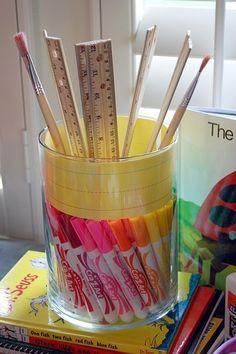 Materiales para el colegio #ninos #colegio #regla