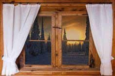 - En varias ocasiones la cortina es un simple #complemento en la decoración de las Ventanas, siendo este uno de los ejemplos, las riqueza de la #Madera natural, es suficiente para lucir el Ambiente.   #AvuestradisposiciON #CDHVLC #HomeinWinter2018