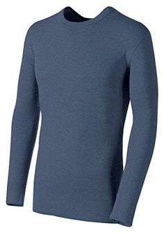 Duofold by Champion Originals WoolBlend Mens Thermal Shirt_Blue Jean_XLarge ** Check out the image by visiting the link.