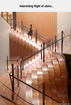 Jännät portaat
