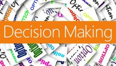 Decisions, decisions...so many decisions! Learn how to evaluate all the options and make the RIGHT decision for you!