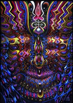 One of my favorites of alex grey