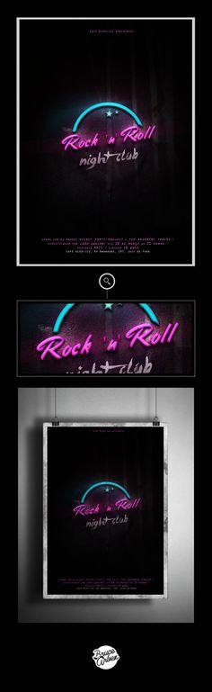 Rock'n'Roll Nightclub on Behance