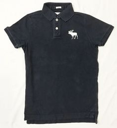 Abercrombie & Fitch Mens Medium Muscle Navy Blue White Logo S/S Polo Shirt #AbercrombieFitch #PoloRugby #eBay #Fashion #Toys #Electronics #pokemon #tie #Clothing #Handbag #3ds #shoes #victoriasecret #holidaygifts #ebayseller #dress #12dayssocks #metoo #coat #vintage #fingerlings