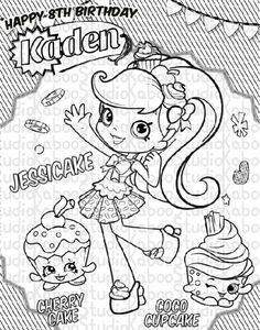 Print Shopkins Berry Sweet Lolly Tootsie Cutie Coloring Pages. See More.  Jessicake
