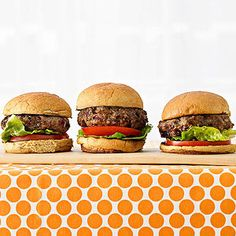 Mix a bit of #wholegrain bulgur into your usual beef burgers to cut down on fat and keep them moist. Try this #protein-packed slider recipe from parents.com! #myplate