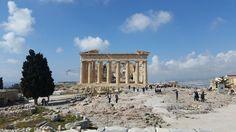 Fotografía: Rebeca Pizarro - Partenon - Atenas Louvre, Building, Travel, Athens, Palaces, Vacation, Countries, Cities, Buildings