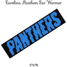 Carolina Panthers Panthers ear warmers by CrochetInfinity2 on Etsy #crochetaddict #crochet #crochetgraph #graphphan #crocheting #crochetpattern #sportsgraph #sportspattern #crochetinfinity