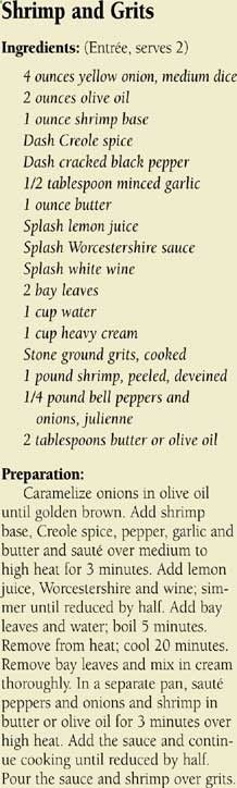 Islamoradas - Shrimp and Grits