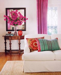 Transform your home with furnishings, decor & inspiration from Providence Design. We'll take care of your every home design & decorating need. My Living Room, Home And Living, Living Spaces, Living Area, Inspiration Wand, Color Inspiration, Deco Champetre, White Couches, White Walls