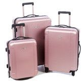 Found it at Wayfair - Freedom 3 Piece Lightweight Hard Shell Spinning/Rolling Luggage Set