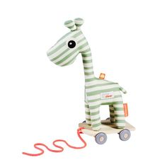 Done by Deer Raffi trek speelgoed groen Pet Toys, Kids Toys, Franck Fischer, Pull Along Toys, Done By Deer, Baby Zimmer, Baby Prince, Pet Furniture, Baby Kind
