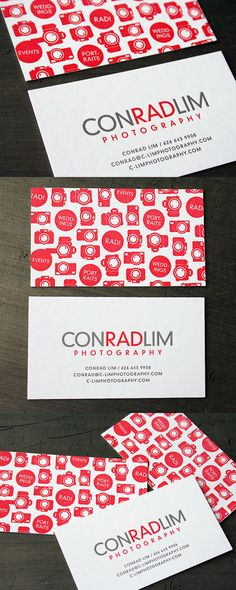 ConradLim Photography's Colorful Business Card | #Business #Card #letterpress #creative #paper #businesscard #corporate #design #visitenkarte #corporatedesign < repinned by an #advertising agency from #Hamburg / #Germany - www.BlickeDeeler.de | Follow us on www.facebook.com/Blickedeeler