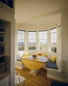 bay window kitchen nook | Kitchen bay window seat Design Ideas ...