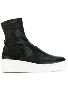 8196d9bfc310a Shop Robert Clergerie Teniera low boots Low Boots, Wedge Ankle Boots, Calf  Leather,