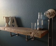 Reclaimed Barn Wood Shelf by decorevive on Etsy, $95.00