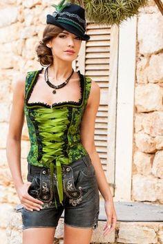 Zünftig! Sexy Dirndl für die After-Wiesn repinned by www.gorara.com