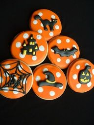 Cookies  www.decorazionido... Idee e strumenti per il #cakedesgin #halloween