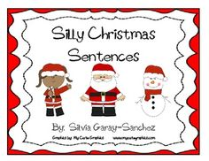 FREE: Silly Christmas Sentences...this looks really fun!!