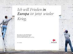 Ich will Frieden IN EUROPA ist jetzt wieder Krieg. #wendesatz
