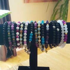 Bracelets avec perles