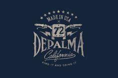 DePalma / BMD Design #GraphicDesign #Logo #Typography