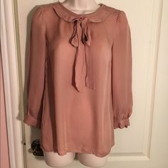 New Marc by Marc Jacobs Maroon Pink Blouse New (without tags) Marc by Marc Jacobs maroon pink blouse size 0. Marc by Marc Jacobs Tops Blouses