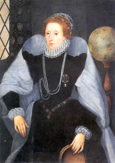 Queen Elizabeth with a Sieve