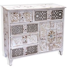 1 Door 5 Drawer Chest of Drawers