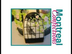 How to decorate cookies - Birdcage cookie tutorial - Step 4 - YouTube