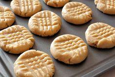Il est à son meilleur, fait de 3 ingrédients,un biscuit au beurre d'arachide qui pourrait vous surprendre
