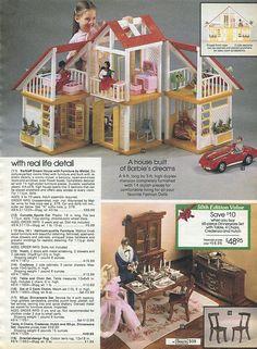 Barbies!! 1982-xx-xx Sears Christmas Catalog P509 by Wishbook, via Flickr