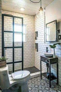 105 genius tiny house bathroom shower design ideas